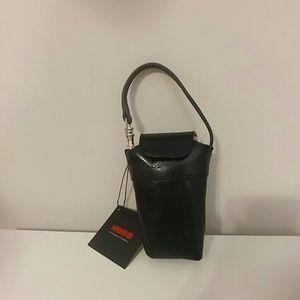 NWT HOBO black leather stash bag